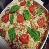 Veg. lasagne